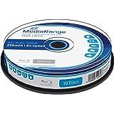 MediaRange MR507 Blu-ray Disc BD-R DL 50GB, 6x de velocidad, imprimible, en Tarrina, 10 unidades