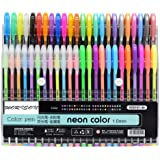 WORISON Unique Colors Glitter, Neon, Pastel, Metallic Colors Gel Pen Set, 48 Pcs