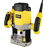 STANLEY SRR1200 1200W 55mm Variable Speed Plunge Router with 6 router bits