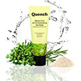 Quench Botanics Mama Cica Oil Fix Exfoliating Gel Mask | Face Mask for Skin Detox and Oil Control | Hydrates and Brightens Sk