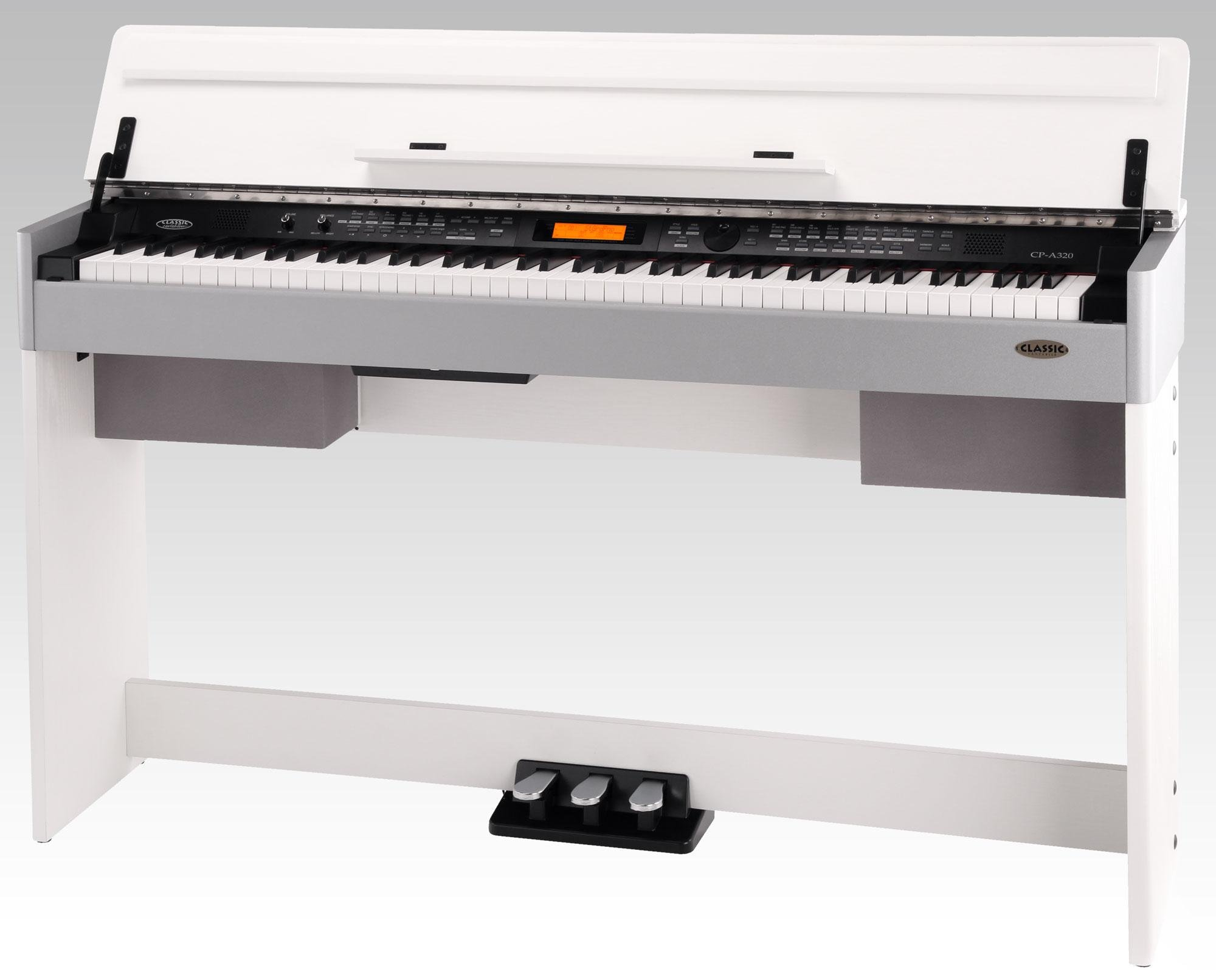 Classic Cantabile CP-A 320 WM E-Piano blanc mat