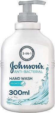 JOHNSON'S, Hand Wash, Anti-Bacterial, Sea Salts, 300ml