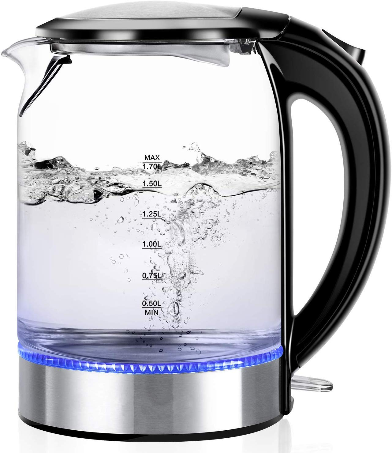 Wasserkocher-Glas-Elektrisch-Glaswasserkocher-17-L-Wasserkoch-mit-LED-Beleuchtung-Auto-off-Trockenlaufschutz-BPA-frei