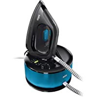 Braun CareStyle Compact IS2055BK Ferro da Stiro a Caldaia, Blu/Nero