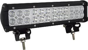 Auxtings Led Arbeitsleuchte 30 5cm Lichtleiste 72w Nebelscheinwerfer Flutlicht Und Strahler Für Geländewagen Lkw Suv Allradantrieb Auto