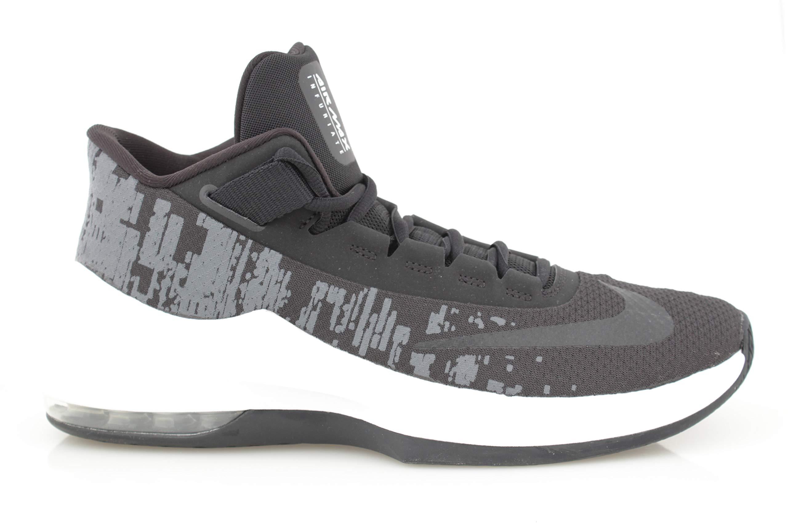 Nike Air MAX Infuriate 2 Mid, Zapatos de Baloncesto Hombre
