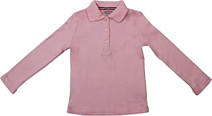 Hey It's Me Full Sleeves Classic Pain Cotton Pink Color Stretchable Polo T-Shirt For Boys/Girls