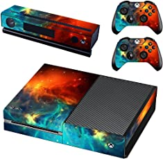 Elton Space Protector Theme 3M Skin Sticker Cover for Xbox One Console, Kinect & Controllers