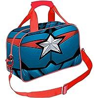 KARACTERMANIA Captain America Civil War-Sac de Sport Noir