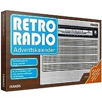 FRANZIS Retro Radio Adventskalender 2020 | In 24 Schritten zum eigenen UKW Radio | ohne Löten | Ab 14 Jahren: Bauen Sie…