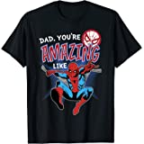 Marvel Spider-Man Amazing Dad Father's Day T-Shirt