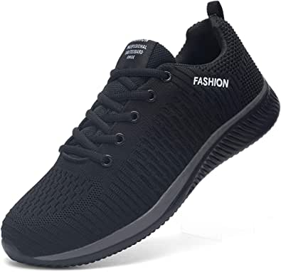 Kefuwu Scarpe da Corsa Uomo Donna Ginnastica Casual Jogging Trekking Tennis Sport Outdoor Fitness Sportive Respirabile Mesh Sneakers