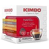 Kimbo Capsule di Caffè Napoli, Compatibile con Nescafé Dolce Gusto, 6 Pacchi da 16 Capsule (Totale 96 Capsule)