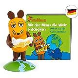 tonies 01-0161 - Figuras de Sonido para Caja Toniebox – El ratón – Descubre el Mundo – 33 min – A Partir de 3 años – alemán