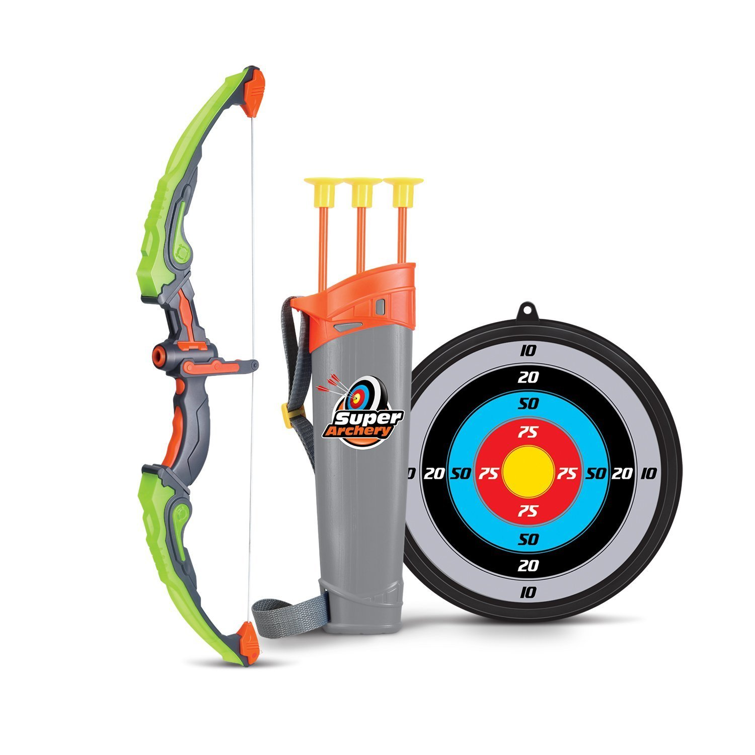 SainSmart Jr. Archery Set with Hunting Bow, Arrow, Quiver, Target, Hunting Series Toy for Kids