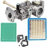Jeffergrill Vergaser Carburetor Kit Kompatibel Für Briggs Stratton 498298 130202 112202 112232 134202 137202 5hp Kraftstoff Motor Ersatz Hecke Küche Haushalt