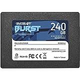 Patriot Memory Burst Disco sólido Interno de 240 GB, SATA III SSD, con hasta 555 MB/s PBU240GS25SSDR