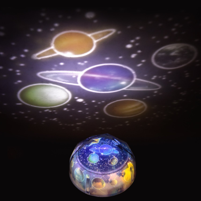 Sternenlicht LED Sternenhimmel-Projektor Nachtlicht Lampe ...