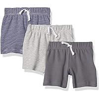 Amazon Essentials 3-Pack Pull-on Short Bébé garçon