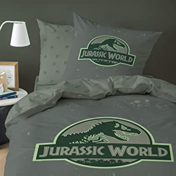 Jurassic World Bettwäsche (Renforcé-Bettwäsche), 1 x
