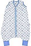 Schlummersack Musselin Schlafsack mit Füßen für den Sommer in 0.5 Tog - erhältlich in verschiedenen Größen und Designs für Jungen und Mädchen