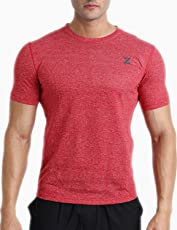Azani Mens Grindle Tshirt. Made from 100% Recycled Polyester. Ideal for Gym and Fitness Wear