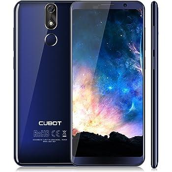 CUBOT POWER (2018)Android 8.1 Smartphone 5.99 Pollici FHD, Batteria 6000mAh, Octa Core MT6763T, 6GB RAM + 128GB ROM, Fotocmara 20 MP+ 13MP, Dual Sim, GPS, 4G Cellulare (Blu) [CUBOT OFFICIALE]
