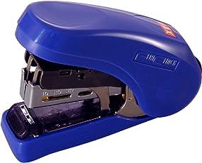 MAX HD-10FL Flat-Clinch Light Effort Stapler Blue