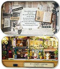 MasterStor 3D Wooden Puzzle Mini Dollhouses Handicraft DIY Dollhouse Mini Box Theatre Art Gift for Kids Girlfriend Birthday Gift