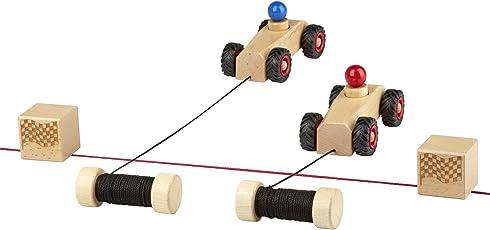 rewoodo Ribble Race - Holzspielzeug Holz Spielzeug ab 3 Jahren Outdoor Sandkasten für Draußen Kinderspielzeug ab 2 Jahren Kleinkind ab 1 Jahr