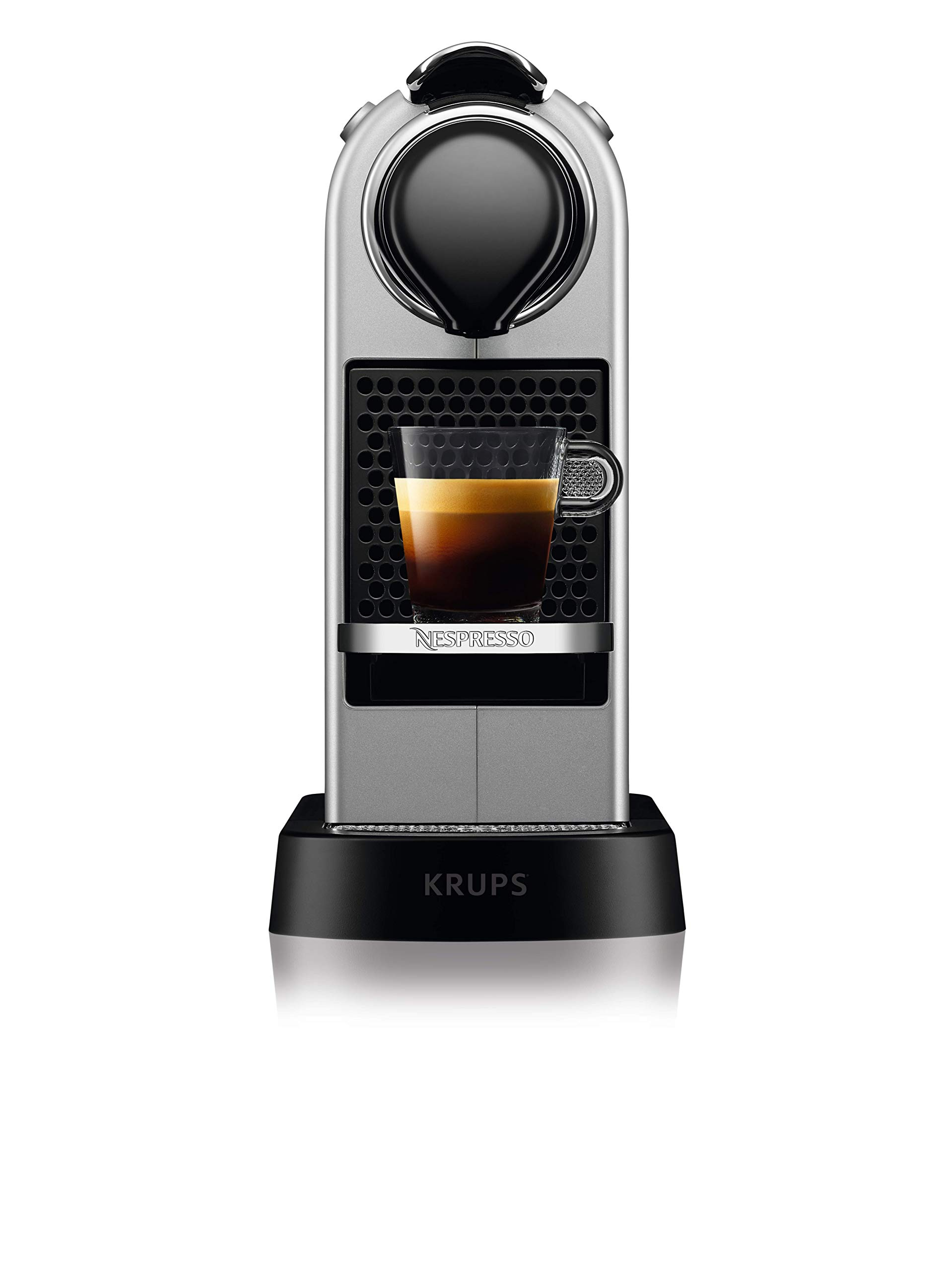 NESPRESSO KRUPS Citiz XN741B40 Pod Coffee Machine-Silver