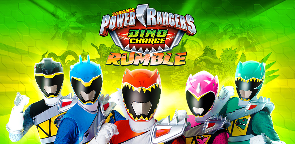 Image of Power Rangers Dino Charge Rumble