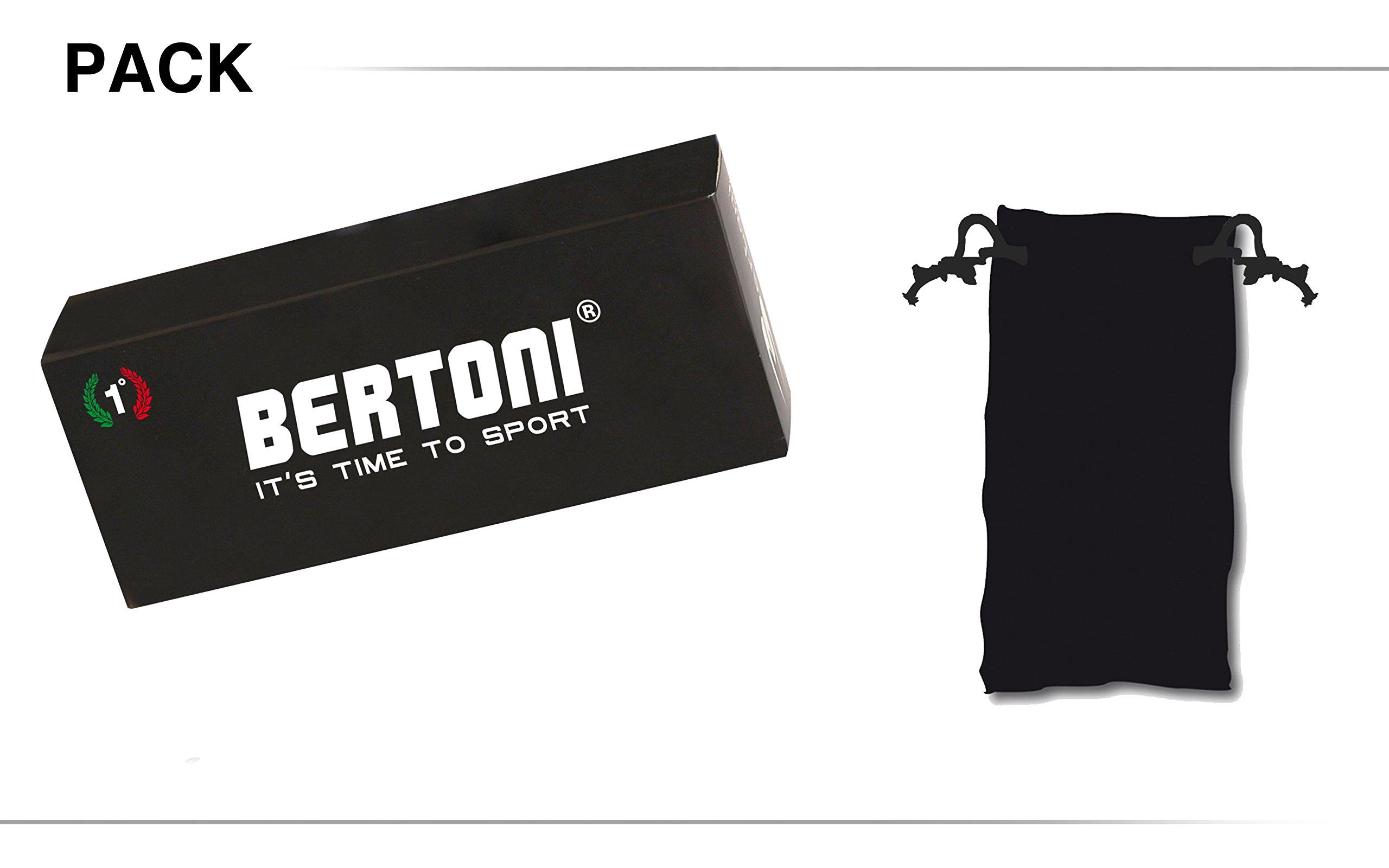Masque moto Bertoni AF120b Noir 7