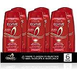 L'Oréal Paris Multi Pack Balsamo Color-Vive Protettivo Color-Vive per Capelli Colorati o Meches, 250 ml, Confezione da 6