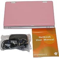 Mini-Laptop, 4 GB, 7 Zoll, Netbook, Android 4.0 (Ice Cream Sandwich OS), mit Webcam für Skype, Ladegerät mit UK-Stecker…