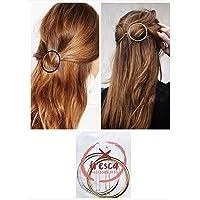 Xfresca, fermaglio capelli da donna, gioiello accessorio in metallo per styling e acconciature capelli a forma di…