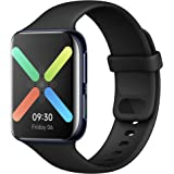 OPPO Watch 46 mm Smart Watch (AMOLED Display, GPS, NFC, Bluetooth 4.2, WiFi, Wear OS by Google Watch, VOOC Quick Charge Funct