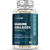 Collagène et Acide Hyaluronique - Collagène Marin pour articulations - Complément alimentaire Peau + Anti-Ride + Anti…