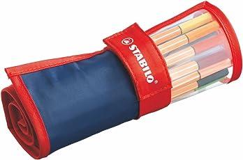 Fineliner - STABILO point 88 - 25er Rollerset - mit 25 verschiedenen Farben