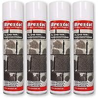 Brestol 7536 Lot de 4 flacons de 400 ML Taches d'huile et de Goudron pavés – Nettoyant pour sols d'atelier