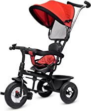 R for Rabbit Tiny Toes Sportz Cycle - The Stylish Plug and Play Baby Tricycle for Kids for 1.5 Years to 2,3,4,5 Years with Ru
