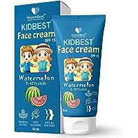 HealthBest Kidbest Face Cream for Kids | SPF 15 | Safe for Sensitive Skin & Unscetened | Tear, Paraben, SLS free…