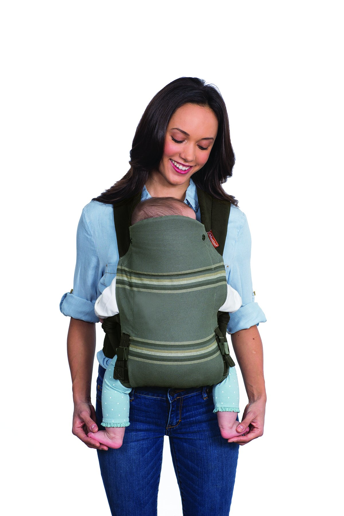Infantino Close Ties Natural Fit Baby Carrier  Infantino