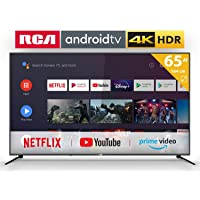 RCA RS65U2 Smart TV (65 Pouces 4K Android TV avec Google Assistant, Google Play Store, Prime Video, Netflix) HDMI,USB…