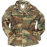 Italian Army Genuine Issue Surplus Military Combat Field Jacket Camouflage Tarn GRADE1