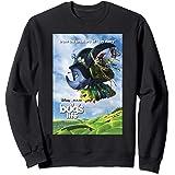 Disney Pixar A Bug's Life Flying Bugs Poster Sweatshirt