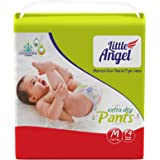 Little Angel Baby Diaper Pants, Medium (74 Count)
