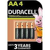 Duracell Oplaadbare AA 1300 mAh Mignon batterij HR6, 4-pack