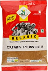 24 Mantra Organic Cumin Powder, 100g