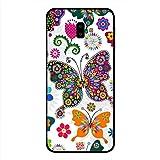 Samsung Galaxy J6 Plus Case Cover Butterflies, Moreau Laurent Premium Design Phone Covers